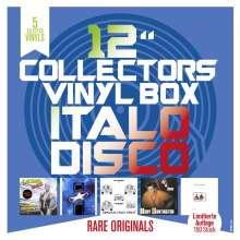 """Collector s Vinyl Box: Italo Disco, 5 Singles 12"""""""