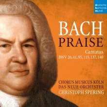 Johann Sebastian Bach (1685-1750): Kantaten BWV 26,41,95,115,137,140, 2 CDs