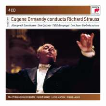 Richard Strauss (1864-1949): Eugene Ormandy conducts Richard Strauss, 4 CDs