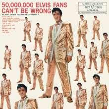 Elvis Presley (1935-1977): 50,000,000 Elvis Fans Can't Be Wrong: Elvis' Gold Records - Volume 2, LP