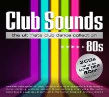 Club Sounds 80s, 3 CDs