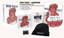 Body Count: Carnivore (Limited Deluxe Box Set), 2 CDs und 1 Merchandise