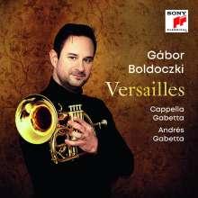 Gabor Boldoczki - Versailles, CD