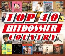 Top 40 Hitdossier: Country, 4 CDs