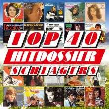 Top 40 Hitdossier: Schlager, 4 CDs