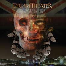 Dream Theater: Distant Memories: Live in London (Special Edition), 3 CDs und 2 Blu-ray Discs