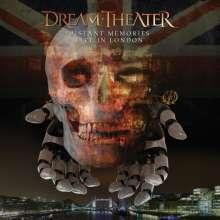 Dream Theater: Distant Memories: Live in London, 3 CDs und 2 DVDs