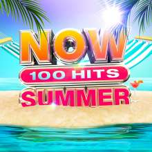 Now 100 Hits Summer, 5 CDs