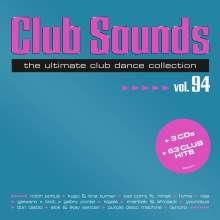 Club Sounds Vol. 94, 3 CDs