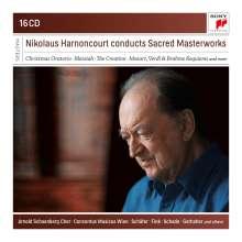 Nikolaus Harnoncourt conducts Sacred Masterworks, 16 CDs