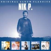 Nik P.: Original Album Classics, 5 CDs
