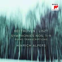 Ludwig van Beethoven (1770-1827): Symphonien Nr.1-9 (Klavierfassung von Franz Liszt), 6 CDs