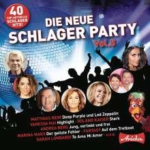 Die neue Schlagerparty Vol. 8, 2 CDs