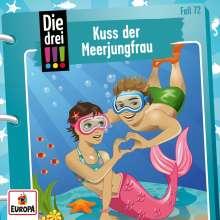Die drei !!! 72: Kuss der Meerjungfrau, CD