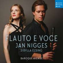 Jan Nigges & Sibylla Elsing - Flauto e Voce (Von Jan Nigges signierte Exemplare), CD