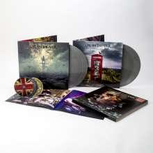 Dream Theater: Distant Memories: Live In London (180g) (Limited Box Set) (Silver Vinyl) (exklusiv für jpc!), 4 LPs und 3 CDs