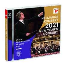 Neujahrskonzert 2021 der Wiener Philharmoniker, 2 CDs