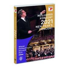 Neujahrskonzert 2021 der Wiener Philharmoniker, DVD