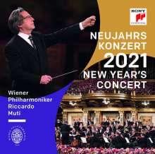 Neujahrskonzert 2021 der Wiener Philharmoniker (180g), 3 LPs