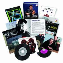 Jaime Laredo - The Complete RCA & Columbia Album Collection, 22 CDs
