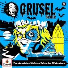 Gruselserie 08. Frankensteins Nichte - Erbin des Wahnsinns (180g), LP