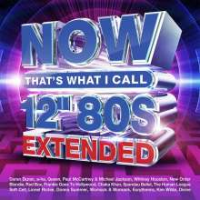 """Now That's What I Call 12"""" 80s Extended, 4 CDs"""