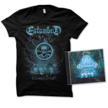 Entombed: Clandestine: Live (Limited-Edition + Shirt L), 1 CD und 1 T-Shirt