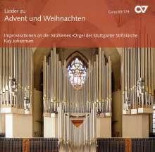 Kay Johannsen (geb. 1961): Orgimprovisationen über Adventlieder, CD