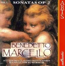 Benedetto Marcello (1686-1739): Sonaten op.2 Vol.1, CD