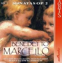Benedetto Marcello (1686-1739): Sonaten op.2 Vol.2, CD