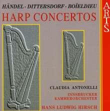 Claudia Antonelli spielt Harfenkonzerte, CD
