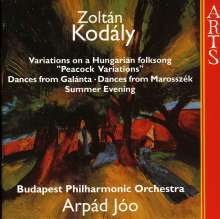 Zoltan Kodaly (1882-1967): Summer Evening, CD