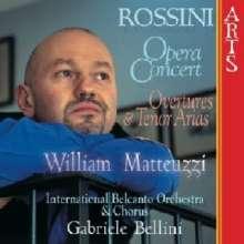 Gioacchino Rossini (1792-1868): Opera Concert, CD