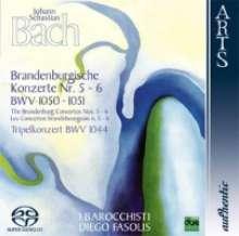 Johann Sebastian Bach (1685-1750): Brandenburgische Konzerte Nr.5 & 6, SACD