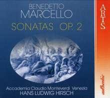 Benedetto Marcello (1686-1739): Sonaten op.2 Nr.1-12, 2 CDs