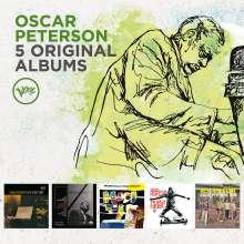 Oscar Peterson (1925-2007): 5 Original Albums (60 Jahre Verve), 5 CDs