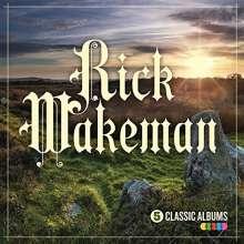 Rick Wakeman: 5 Classic Albums, 5 CDs