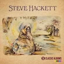 Steve Hackett (geb. 1950): 5 Classic Albums, 5 CDs