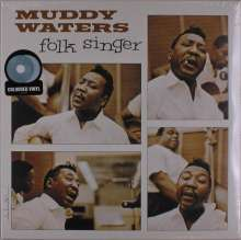 Muddy Waters: Folk Singer (Translucent Light Blue Vinyl), LP