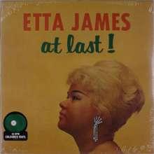 Etta James: At Last! (Translucent Green Vinyl) (45 RPM), LP