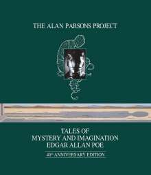 The Alan Parsons Project: Tales Of Mystery And Imagination (Blu-ray Audio), Blu-ray Audio
