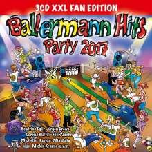 Ballermann Hits Party 2017 (XXL Fan Edition), 3 CDs