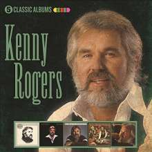 Kenny Rogers: 5 Classic Albums, 5 CDs