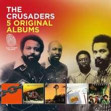 The Crusaders (auch: Jazz Crusaders): 5 Original Albums, 5 CDs