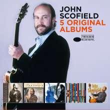 John Scofield (geb. 1951): 5 Original Albums, 5 CDs