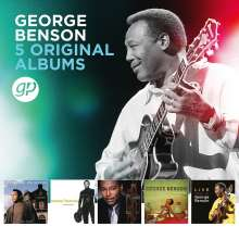 George Benson (geb. 1943): 5 Original Albums, 5 CDs