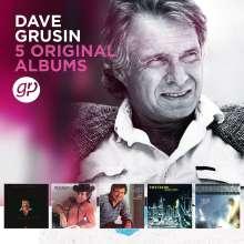 Dave Grusin (geb. 1934): 5 Original Albums, 5 CDs