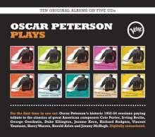 Oscar Peterson (1925-2007): Oscar Peterson Plays (Boxset), 5 CDs