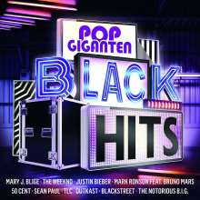 Pop Giganten: Black Hits, 2 CDs