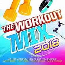 Workout Mix 2018, 2 CDs